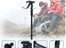 Discovery Adventures Premium Grade Adjustable Grasp Hiking Stick Trekking Pole
