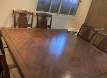 طاولة سفرة من 8كراسي