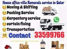 House shifting moving carpenter transportation available