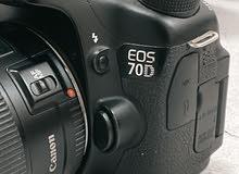 cabon 70D + 4 lens + softbox