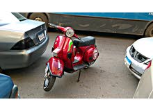 Vespa motorbike available in Cairo