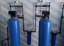 جميع أجهزة محطة تحلية و تنقية مياه للبيع