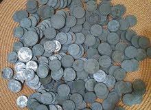 عملات عراقيه قديمه حديد العدد250 قطعة