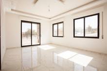 شقة أرضية سوبر ديلوكس 135م2 مع ترس ومدخل خاص مميزة جدا في الجبيهة