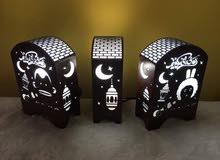 فوانيس رمضان وابجورات خشبيه