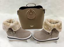 احذية شتوي خامات ممتازة  ع التسليم
