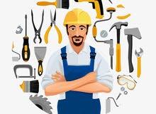 """فني متعدد الخبرات صيانة تركيب تشطيب لخدمات متعددة """"أي خدمة"""" داخل بيتك"""
