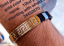 gold plated for men brc