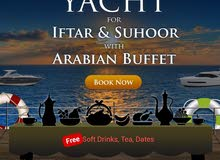Private Boat/Yacht Iftar and Suhoor Offer with Arabian Buffet
