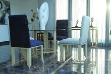 كراسي قماش وطاولات للبيع Fabric Chairs & Tables for sale