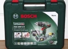 Bosch PSB 1800 LI-2 Cordless Combi Drill دريل
