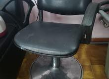 كرسي صالون سيدات عدد 2 مغسلة عدد 1