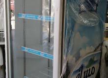 ثلاجه باب زجاجي مسافي للبيع