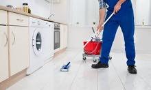 شاب عامل نظافة للعمل لدى الرجال والشباب العزاب لجميع الخدمات المنزلية(ثقة،آمانة)