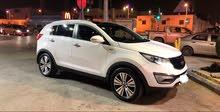 White Kia Sportage 2014 for sale