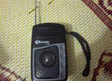 راديو قديم جديد وبحالة جيدة جدا