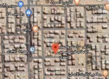للبيع ارض 400م2 السويس السلام 1 متفرعه من ش عمر الخطاب قرب مسجد التقوي