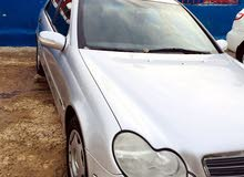 Mercedes Benz C 180 made in 2002 for sale