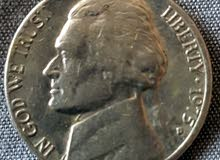 five cents 1975 USA