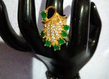 Ring hand made gold plated