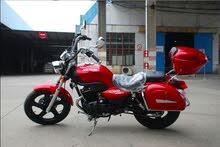 الدراجة مرخصة وكالة ماشية 8000كيلو فقط  موديل 2016 ماتور 266CC لون  احمر 079875