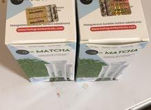 شاي ماتشا اصلي للتخسيس مضمون ومجرب يوجد علبتين وحده جديده والثانيه مستخدم 6 ظروف