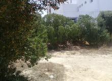 ارض بها منزل بحدائق المنزه قرب المعرض