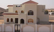 تملك ارض سكنية  اول نمرة على الشارع الاسفلت  - منطقة مصفوت حوض 3 - عجمان قريب الشارع القار  RT