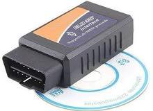 جهاز OBDII لفحص اعطال  السيارة بالبلوتوث عبر التلفون