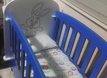 سرير اطفال غير مستعمل
