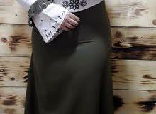 فستان تركي مع ساعه وشال