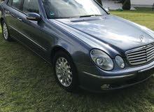 For sale 2004 Blue E 200