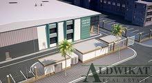 مصنع للبيع في ناعور مساحة البناء 10800 م مساحة الارض 28700 م