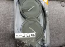 Brand New, Sealed, Panasonic Stereo Headphones