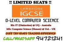 IGCSE Computer Science ( O Level ) معلم علوم الحاسوب الثانوية الانجليزية