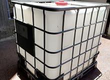حاويه 1طن تستخدم للكاز أو النفط أو للماء