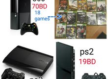 Argent selling ps3, ps2 & xbox 360
