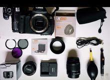 كاميرة كانون 650D جديدة