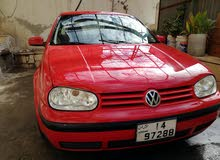 Volkswagen Golf 2000 For sale - Red color