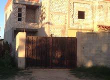 منزل وقطعة أرض بصبراتة (دحمان)