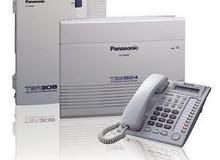 تركيب وصيانة المقاسم الهاتفية باناسونيك وكميرات المراقبة واجهزة الانذار DSC وساع