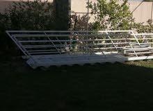 درج حديد خارجي ذو محجرين