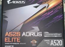 للبيع بسرعه مذربورد اروس جيجابايت A520 elite