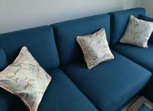 Home Centre L sofa shape, left side, very excellent condition