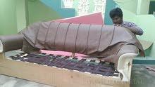 carpenter sofa set Arabic majlish recovering restoring