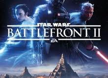 مطلوب لعبه ستار وورز باتلفرونت 2 star wars battlefront 2 للبلي 4