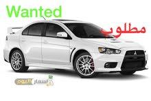 Wanted Mitsubishi Lancer. . مطلوب ميتسوبيشي لانسر