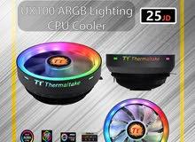 مراوح معالجات / مروحة معالج ذات تبريد مميز من Thermaltake / TH UX100 CPU FAN