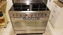 ;-Smeg 5 Burner Electric cooker 90 by 60cm size cooker