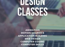 Design Classes (Web, Graphic, Animation)